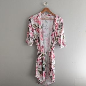 Show Me Your MuMu Robe Floral Pink FFF